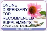Virtual Dispensary for Recommended Supplements by Debora Robinett nutritionist and registered dietitian - Tacoma Seattle.
